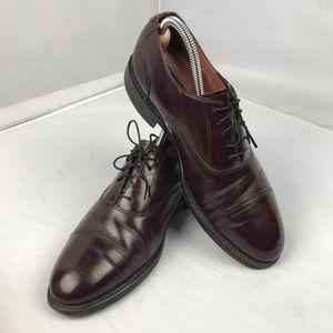 Bostonian classic shoes burgundy size 8.5